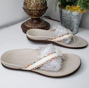 Vionic Tide 2 Toe Post Orthoheel Comfort sandel 10